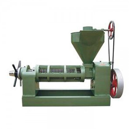 YY125 type round row oil press