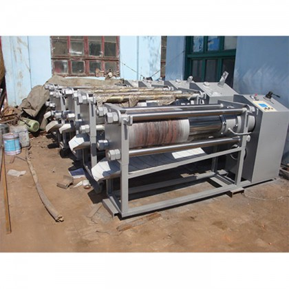 New horizontal oil press
