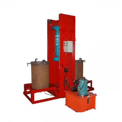 Soybean oil press